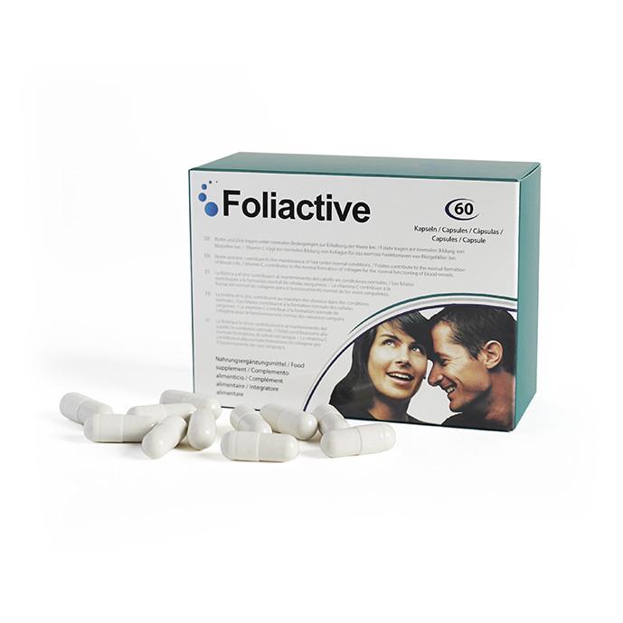 1 Foliactive Pills + Guia para o cuidado do cabelo Grátis