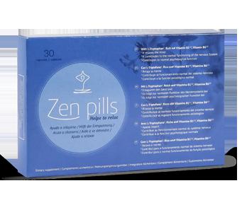 comprimidos para controlar a ansiedade Zen Pills, XS Natural.