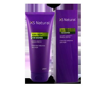 XS Natural cream to eliminate cellulite