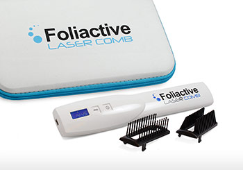 Laser comb against hair loss: Foliactive Laser