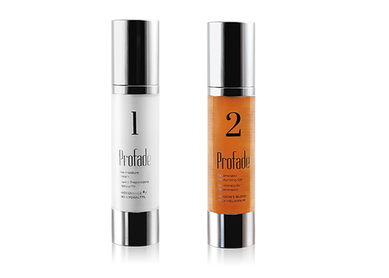 Regenerating hydration cream & gel: Profade