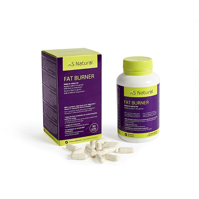 XS Natural Fat Burner, pastillas quemagrasas para bajar de peso