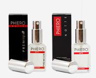 Phiero Premium y Phiero Notte, perfumes con feromonas para hombre