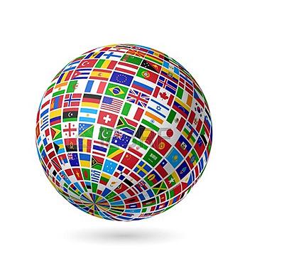 cobertura em todo o mundo