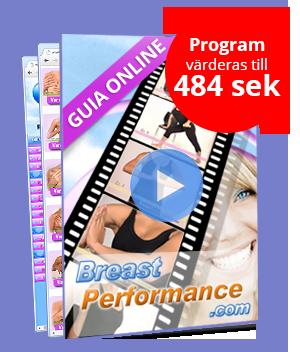 Breast Performance, övningar för bröstförstoring och förbättrat fasthet.