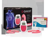 Procurves Plus, pílulas para aumentar os seios. U-Breast aparelho baseado na eletroestimulação para o aumento dos seios de forma natural.