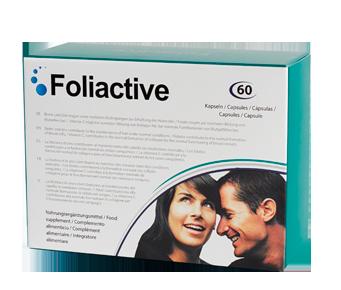Foliactive Pills é um suplemento alimentar em comprimidos contra a queda do cabelo