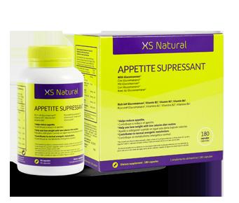 Comprimidos para inibir a fome, XS Natural Appetite Suppressant.
