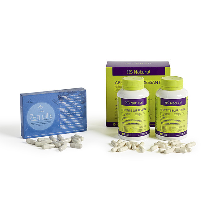 XS Natural Appetite Suppressant + Zen Pills