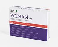 500Cosmetics Woman Pills, Nahrungsergänzungsmittel zur Verbesserung der weiblichen Libido