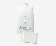 U-Derma an electronic device to eliminate pimples and impurities