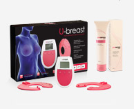 Procurves Cream, cream to enhance breasts size. U-breast device based on electro-stimulation to naturally enhance breast size