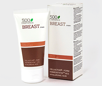 Cream to enhance breasts size 500Cosmetics Breast Cream