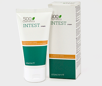 500Cosmetics Intest Cream, cream made to help reduce skin irritations caused