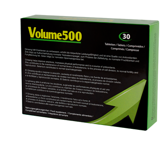 Improve quality of sperm, Volume500