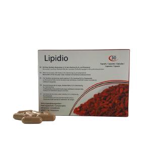 Lipidio favorece la eliminación de grasa y colesterol en sangre hasta alcanzar niveles normales e impedir su absorción en exceso a nivel intestinal.