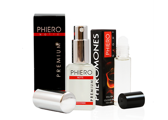 Perfume for men with Pheromones: Phiero