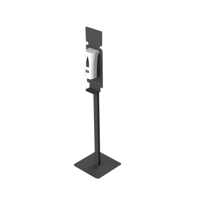 Dosificador automático de Gel hidroalcohólico con soporte de pie