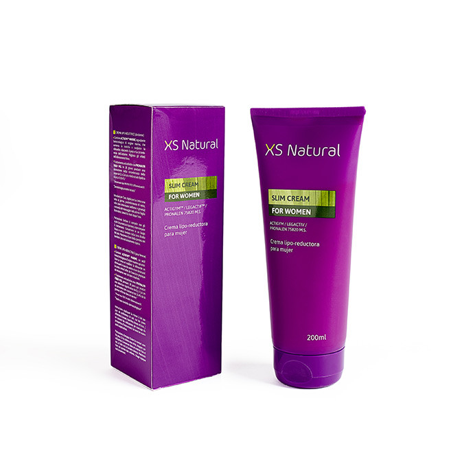 XS Natural, crema anticelulítica y reductora para mujer