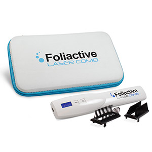 Foliactive Laser es un peine láser que previene y evita la caída del cabello