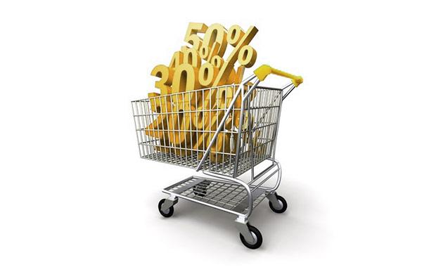 Alto valor de la cesta media