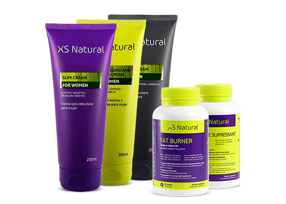 Productos adelgazantes y reductores XS Natural