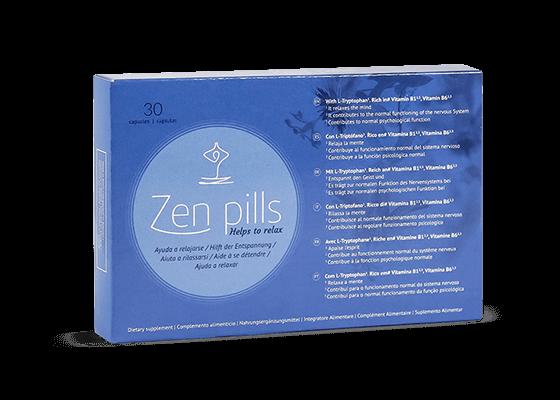 Control de la ansiedad Zen Pills