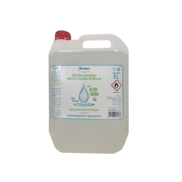 Garrafa 5 Litros Gel Hidroalcohólico de producción nacional