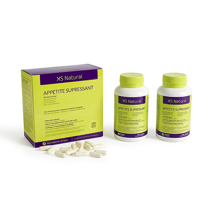XS Natural Appetite Suppressant, pillerit ruokahalun vähentämiseksi