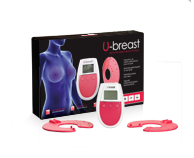 U-Breast, elektrostimulaatioon perustuva laite rintojen suurentamiseen luonnollisesti
