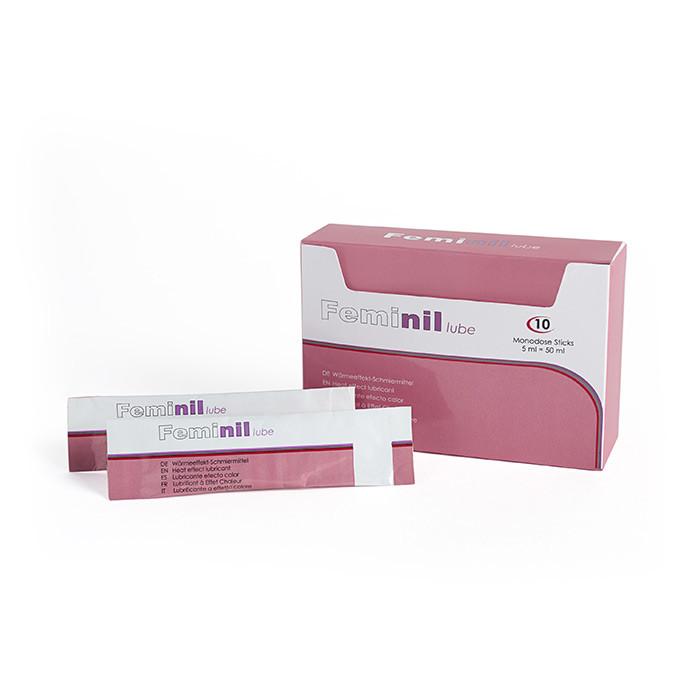 Feminil Lube, Lubrifiant stimulant féminin à base d'eau pour augmenter la libido.