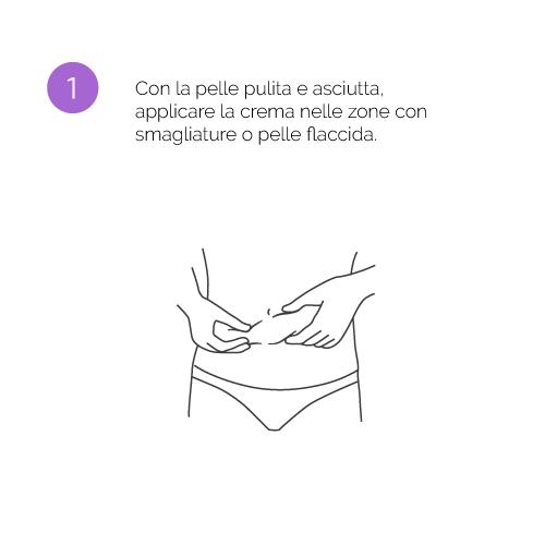Paso 1 Crema Antiestrías