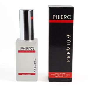 Phiero Premium, profumo con feromoni per uomo.