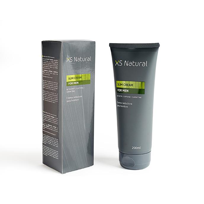 1 XS Natural crema reductora para hombre