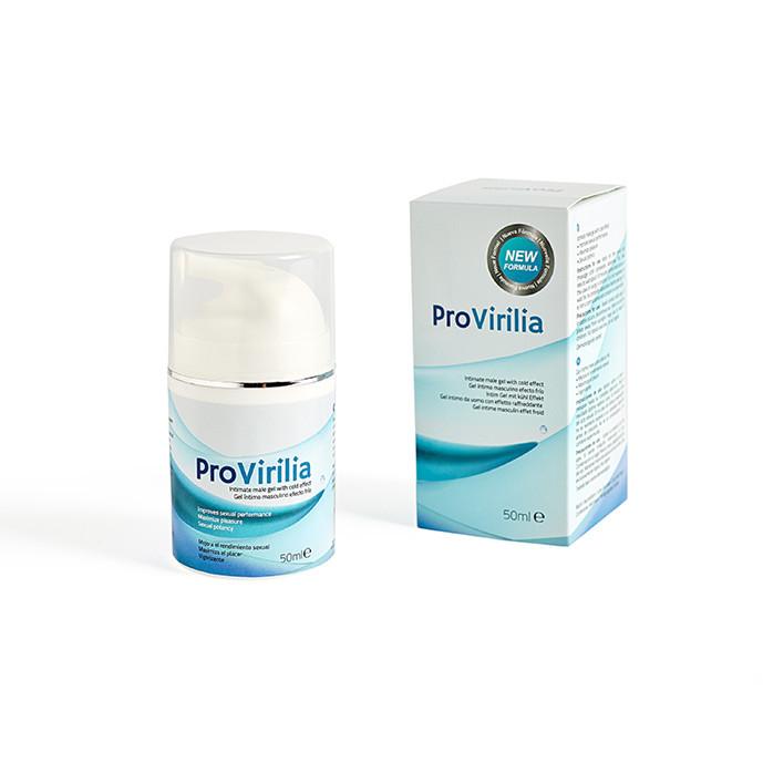 Provirilia, intieme gel voor mannen, koud effect