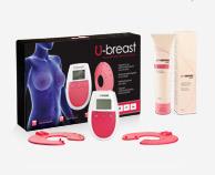 Procurves Cream, crème voor borstvergroting. U-borstapparaat op basis van elektrostimulatie voor natuurlijke borstvergroting