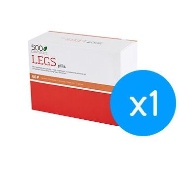500Cosmetics Legs Pills, cápsulas para varizes e sua prevenção