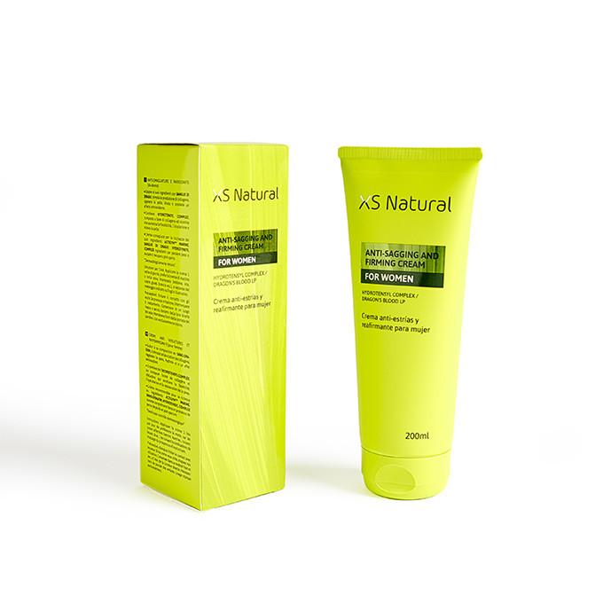 XS Natural, creme para estrias e endurecimento da pele