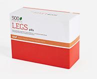 500Cosmetics Legs Pills cápsulas naturales para prevenir los síntomas de las varices