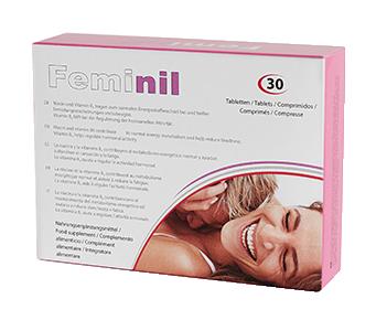 Feminil Pills, complemento alimentar para aumentar a libido feminina