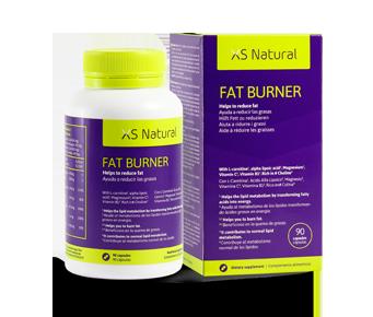 Comprimidos para queimar gordura, Fat Burner XS Natural para remover a gordura abdominal.