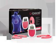 U-Breast enheten är baserad på elektrostimulation för naturlig bröstförstoring