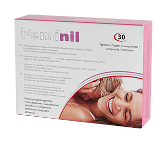 Feminil Pills, ett kosttillskott för att förbättra den kvinnliga libidon